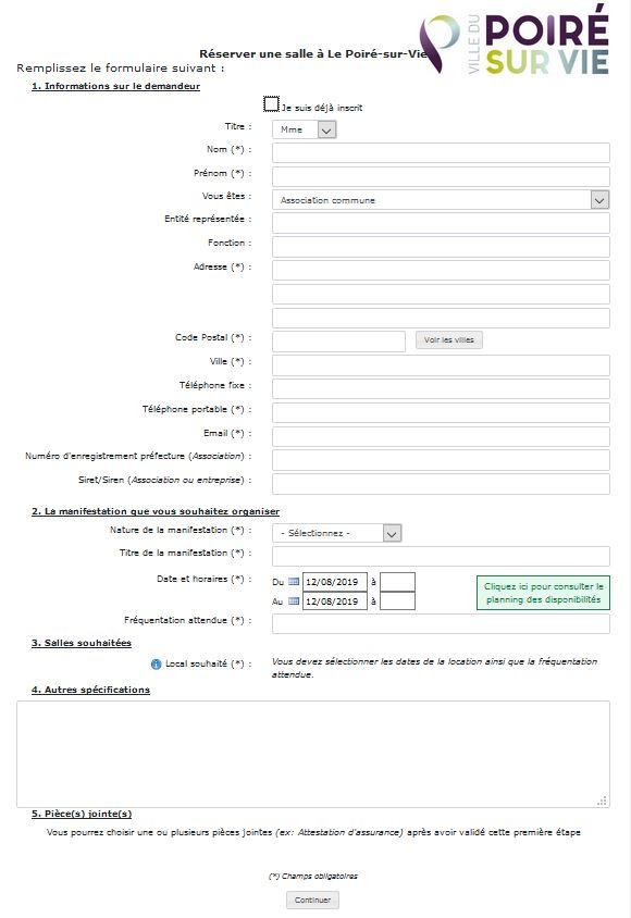 Capture formulaire