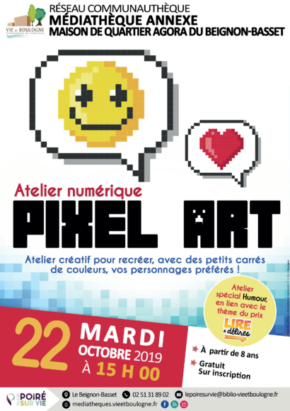 ATELIER PIXEL ART BEI OCT 2019